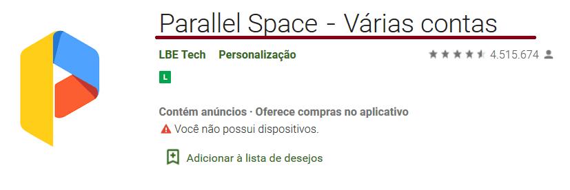 como clonar whatsapp com parallel space