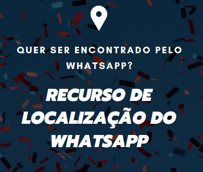 como enviar localização pelo whatsapp pelo gps