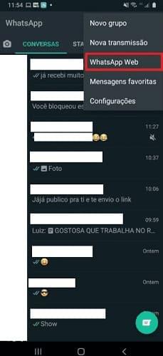 como postar status do whatsapp pelo pc com celular