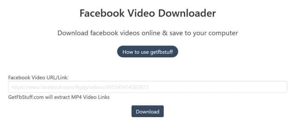 compartilhar vídeo do facebook para whatsapp com fb vídeo downloader