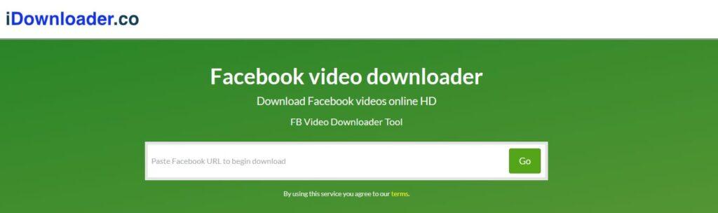 compartilhar vídeo do facebook para whatsapp com idownloader