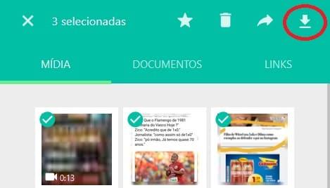 Como Baixar Várias Fotos do Whatsapp no PC no Whatsapp Web baixar mídias