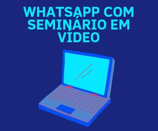 como ganhar dinheiro com whatsapp em seminários
