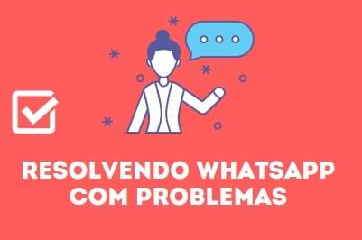 contatos não aparecem no whatsapp com problemas