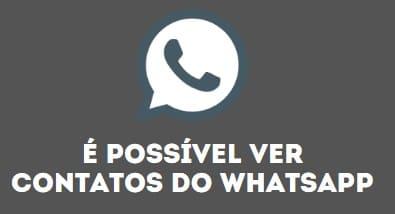 solucionando contatos não aparecem no whatsapp