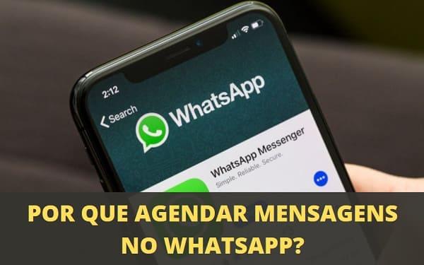 como agendar mensagens do whatsapp