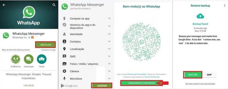 Como Mudar do GBWhatsApp para o WhatsApp instalação do app oficial