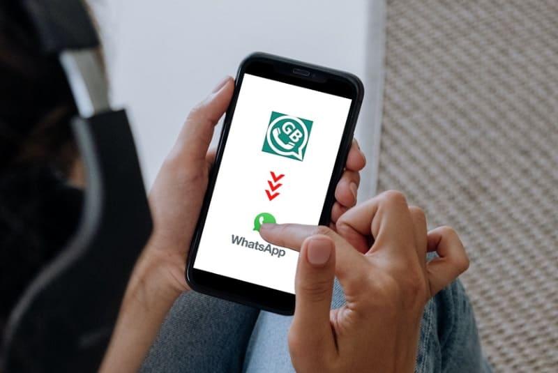 Como Mudar do GBWhatsApp para o WhatsApp