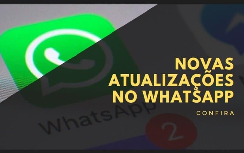 novas atualizações no whatsapp