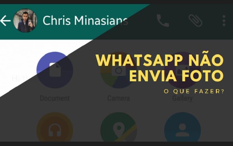 whatsapp não envia foto corretamente