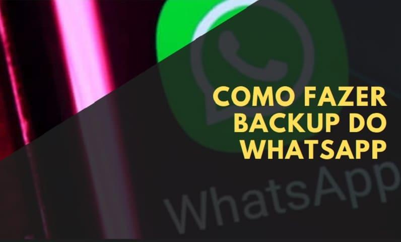 como fazer backup do whatsapp atualizado