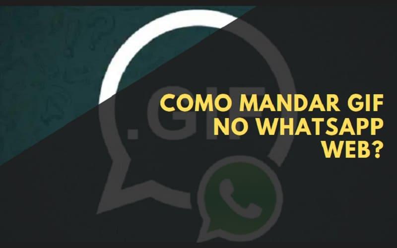 como mandar gif no whatsapp web