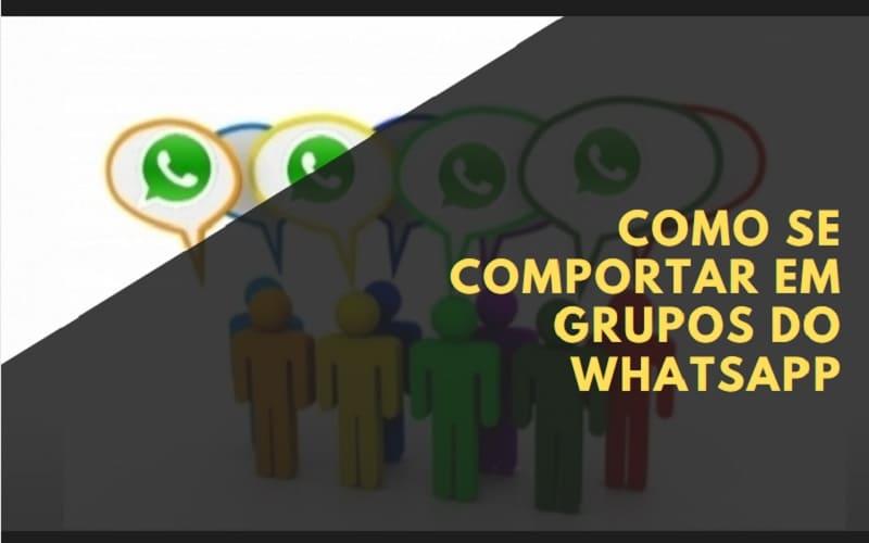 como se comportar em grupos de whatsapp