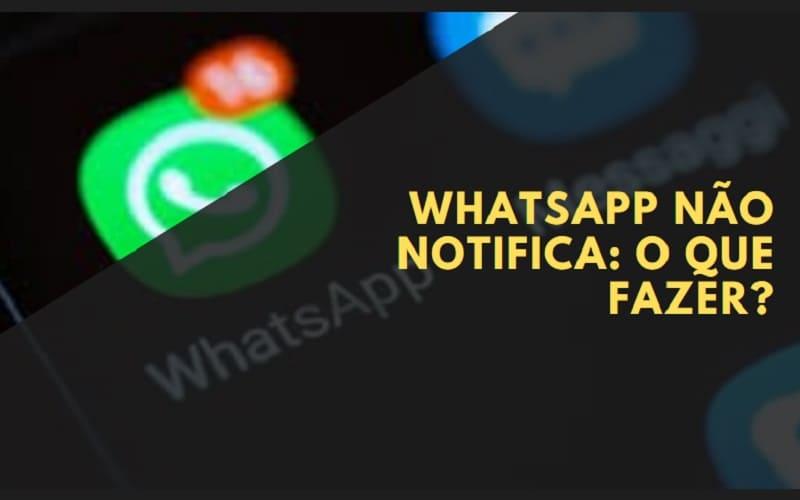 whatsapp não notifica