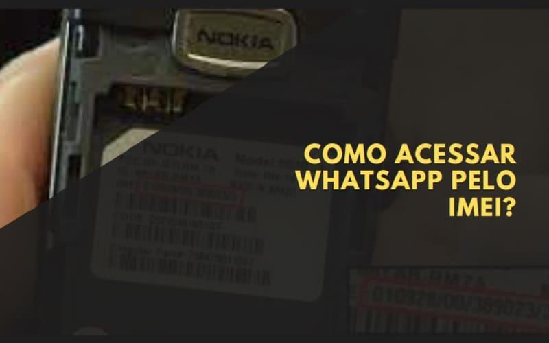 como acessar whatsapp pelo imei