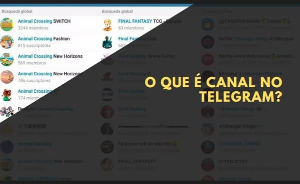 o que é canal no telegram