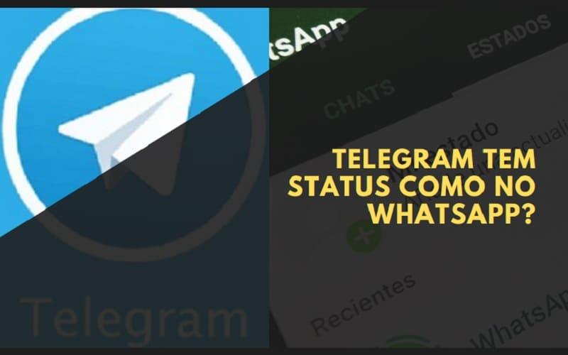 telegram tem status